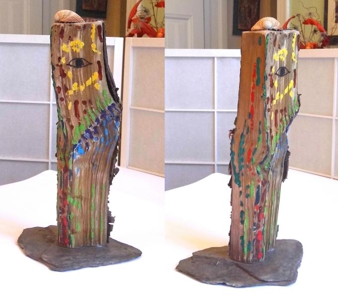 Skulptur 9 Ansicht a+b