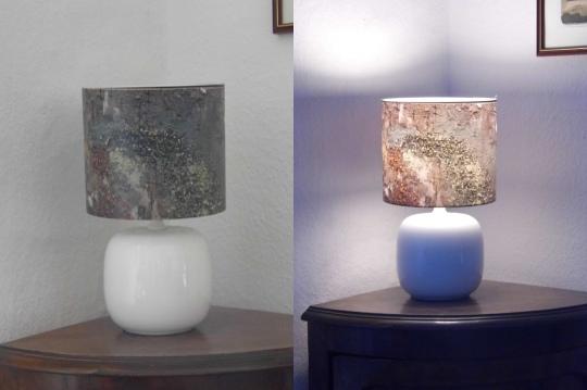 Lampenschirm klein - aus:ein